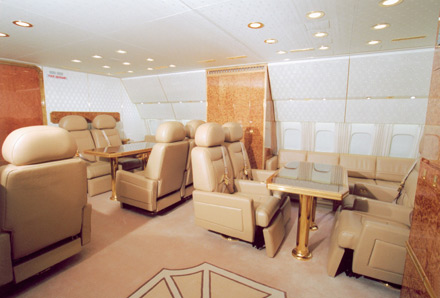 Interior Of Vladimir Putins Plane