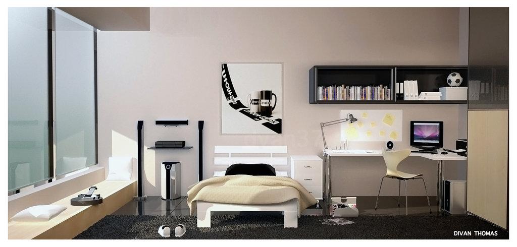 Teen Room Designs on A Teenage Room  id=53154
