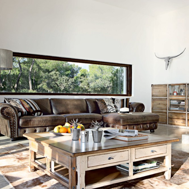 6 Inspiration Gallery From Living Room Decorating Ideas With Brown Leather Furniture