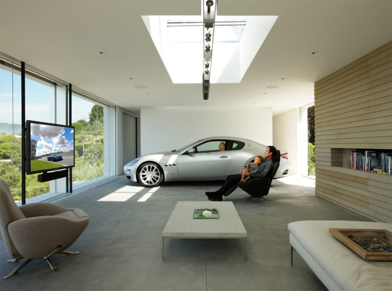 Garage Design Contest by Maserati garage interior design