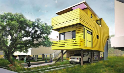 Sustainable Homes For Katrina Victims From Brad Pitt
