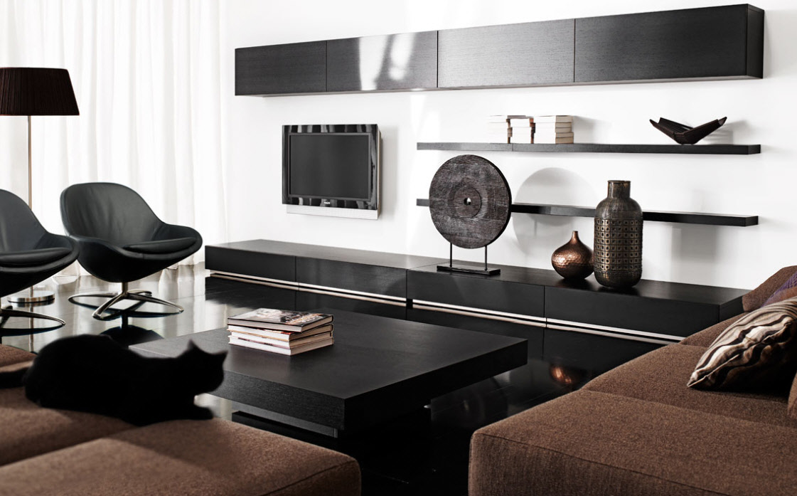 Even if you have space to spare, you're goin. Contemporary Living Room Furniture