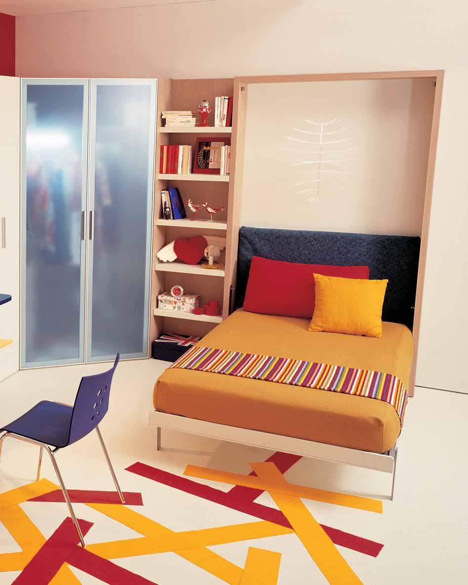 Ideas for Teen Rooms with Small Space on Teenager Simple Small Bedroom Design  id=74252