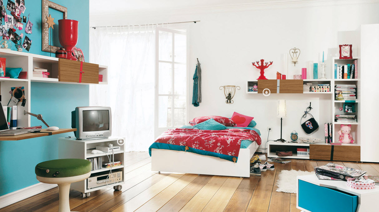Trendy Teen Rooms on Rooms For Teenagers  id=60132