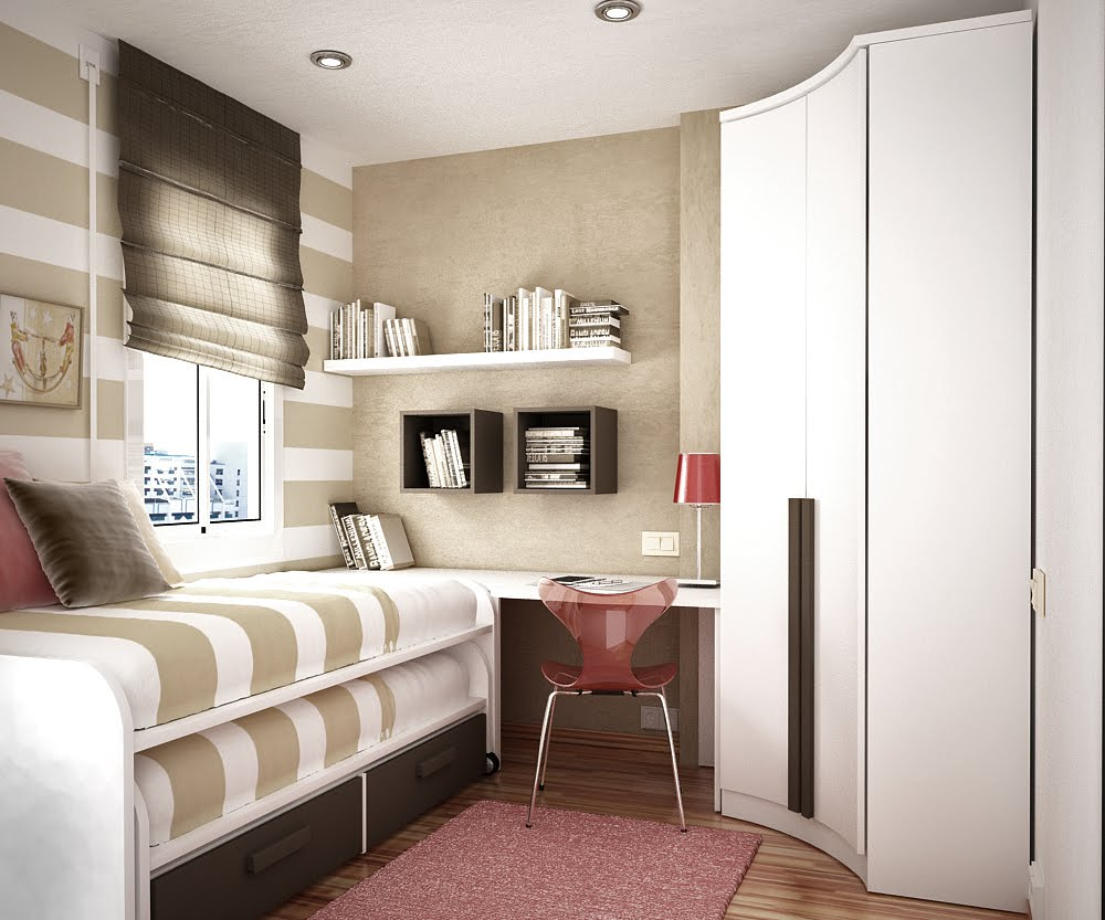 Space Saving Ideas for Small Kids Rooms on Bedroom Ideas For Small Spaces  id=54057