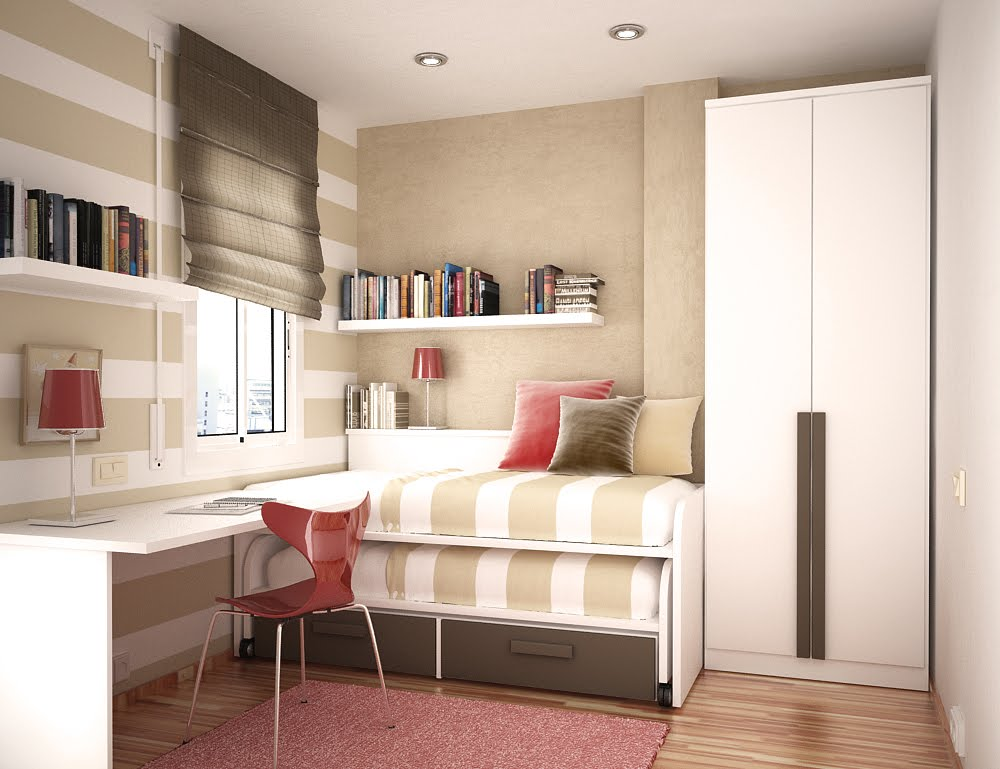 Space Saving Ideas for Small Kids Rooms on Bedroom Ideas For Small Spaces  id=36109