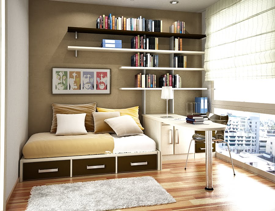 Space Saving Ideas for Small Kids Rooms on Bedroom Ideas For Small Spaces  id=94645