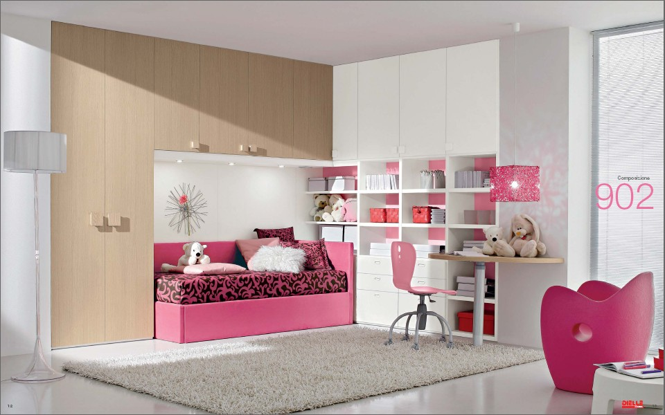 Modern Kids Room Furniture from Dielle on Room For Girls  id=86892