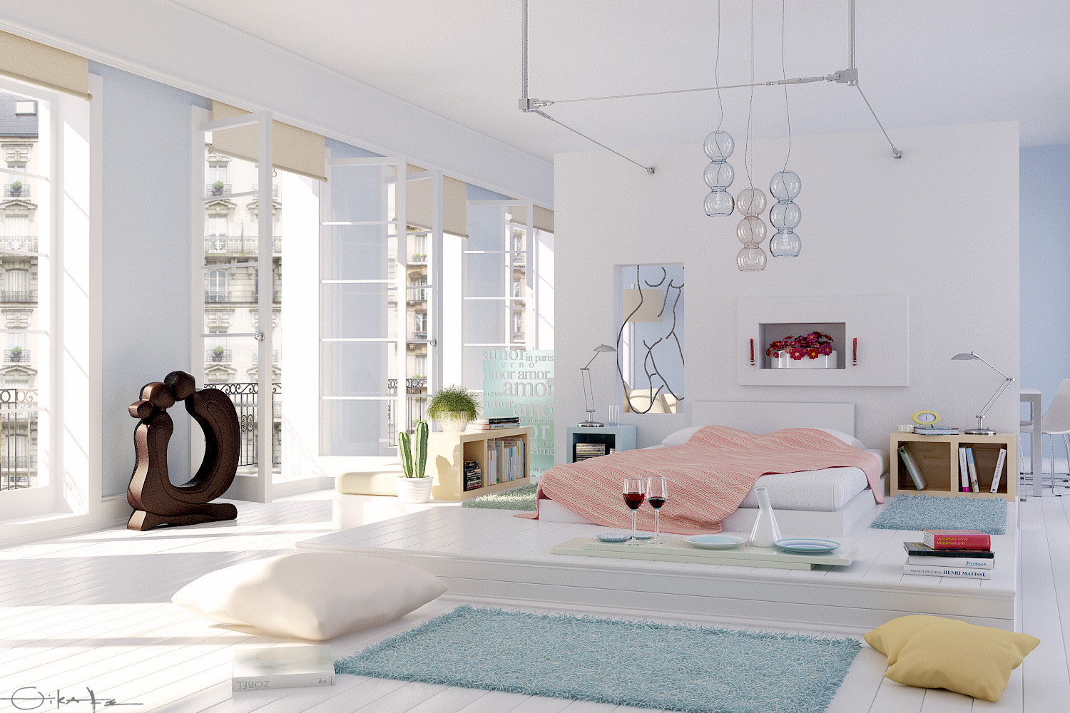 10 Drop Dead Gorgeous Bedrooms on Beautiful Girls Room  id=51566