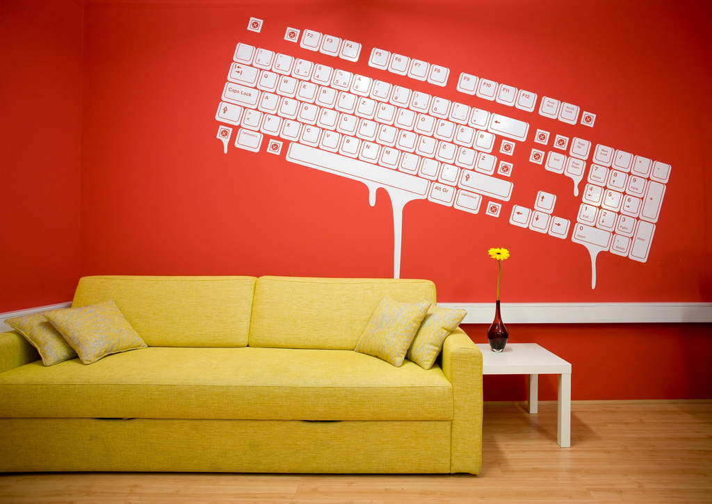 Colorful Offices of Creative Studio 3FS on Creative Wall Design Ideas  id=28630