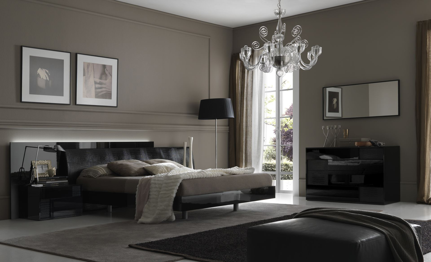 Bedroom Decorating Ideas from Evinco on Room Decor Ideas  id=17739