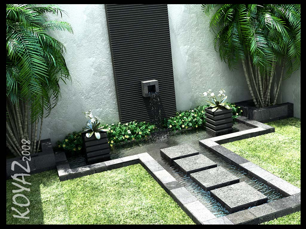 Courtyard Design and Landscaping Ideas on Courtyard Patio Ideas id=25711