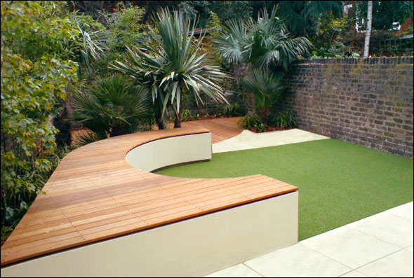 Beautiful Roof Gardens and Landscape Designs on Back Garden Seating Area Ideas id=70510