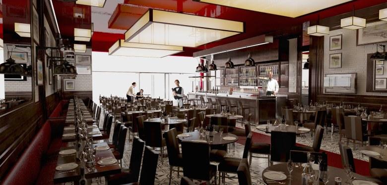 Japanese Restaurant Interior Design Concept