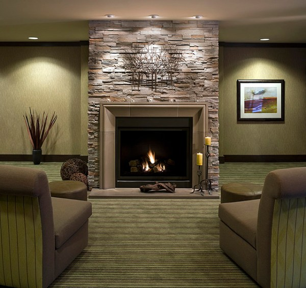 modern fireplace design ideas Fireplace Mantels and Surrounds