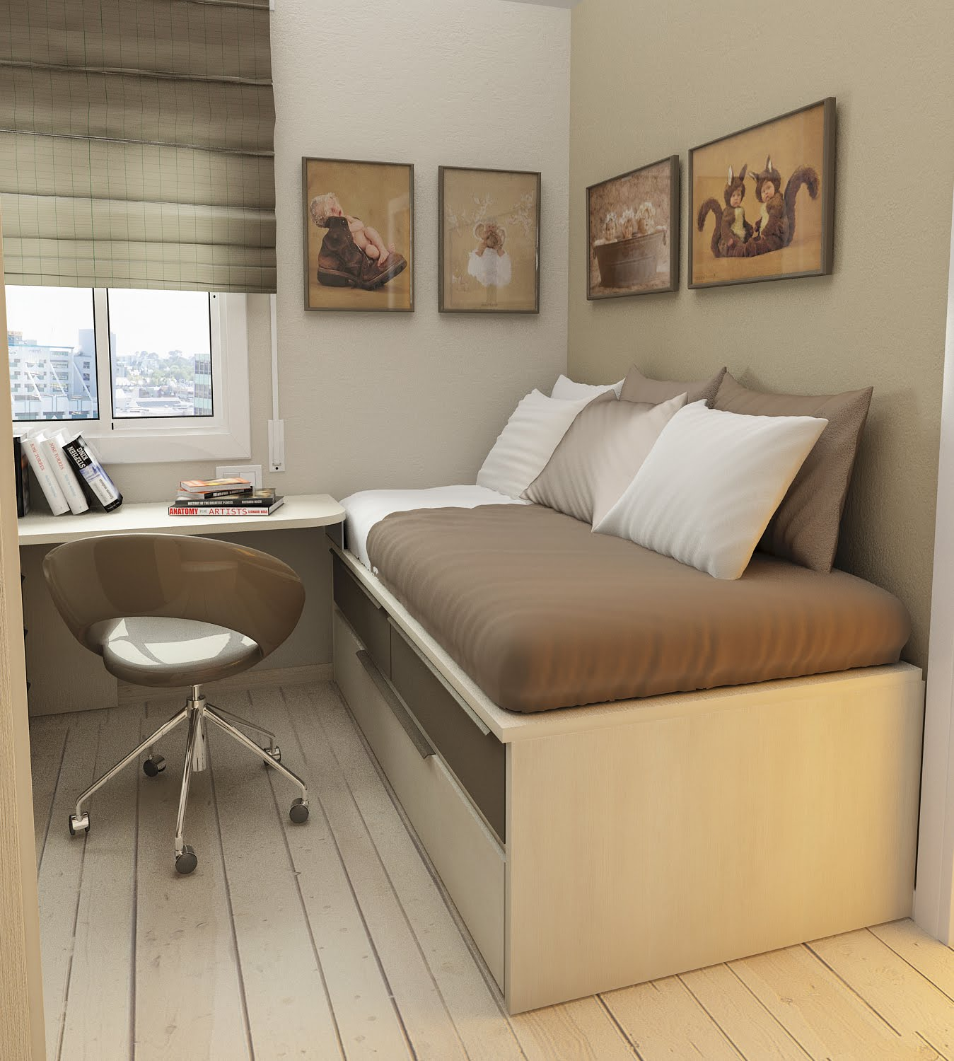 Small Floorspace Kids Rooms on Small Rooms  id=27657