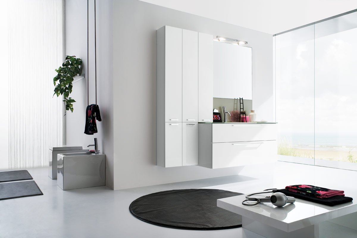 50 Modern Bathrooms on White Bathroom Design Ideas  id=95583