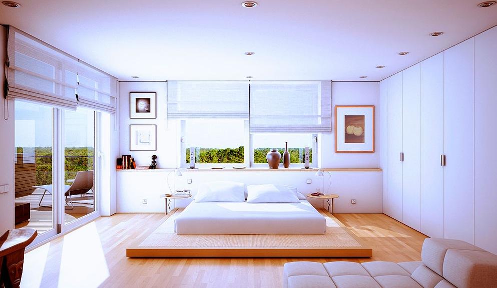 Modern Houses Bedrooms Novocom Top