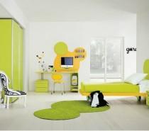 semi-cartoon color kids bedroom