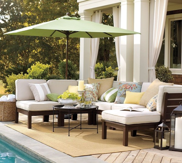 outdoor patio furniture Outdoor Garden Furniture by Pottery Barn