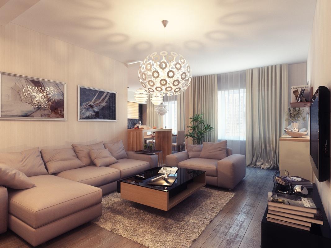   Small Warm Living RoomInterior Design Ideas.