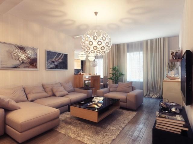 | Small Warm Living RoomInterior Design Ideas.