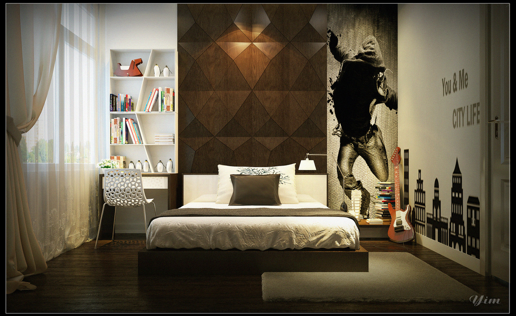 Warm and Cozy Rooms Rendered By Yim Lee on Teenage:m5Lo5Qnshca= Room Ideas  id=71157