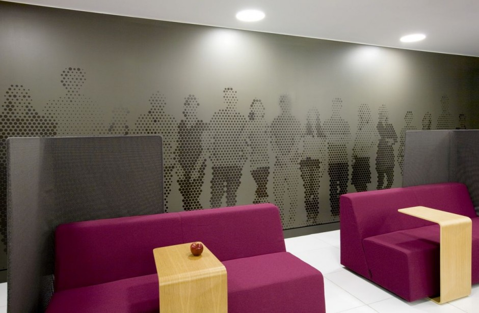 Beautiful Office Interiors Of A Canadian Media Company