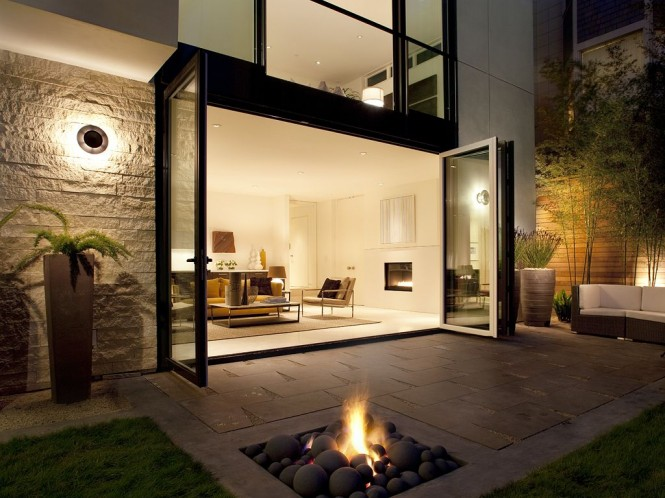 Via Totally Cool Backyards Fire pits allow you to use your yard longer into the evening, and the year.