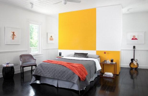 Yellow And Gray Bedroom Pictures   Iammyownwife.com