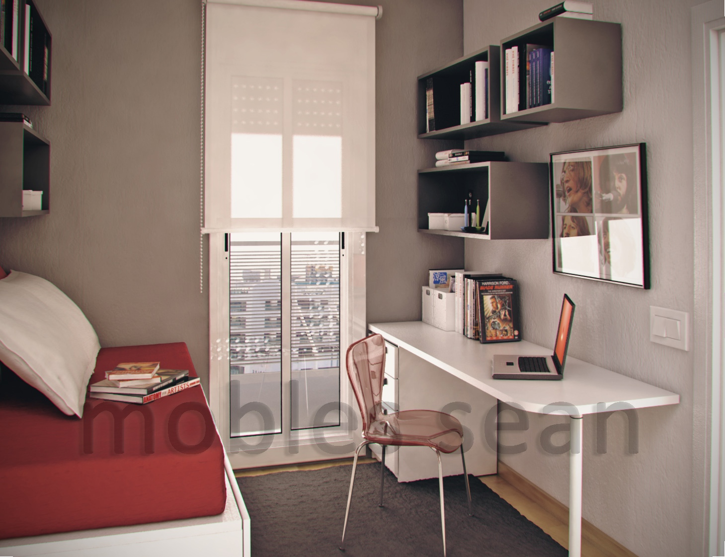 Space-Saving Designs for Small Kids Rooms on Small Room Idea  id=73229