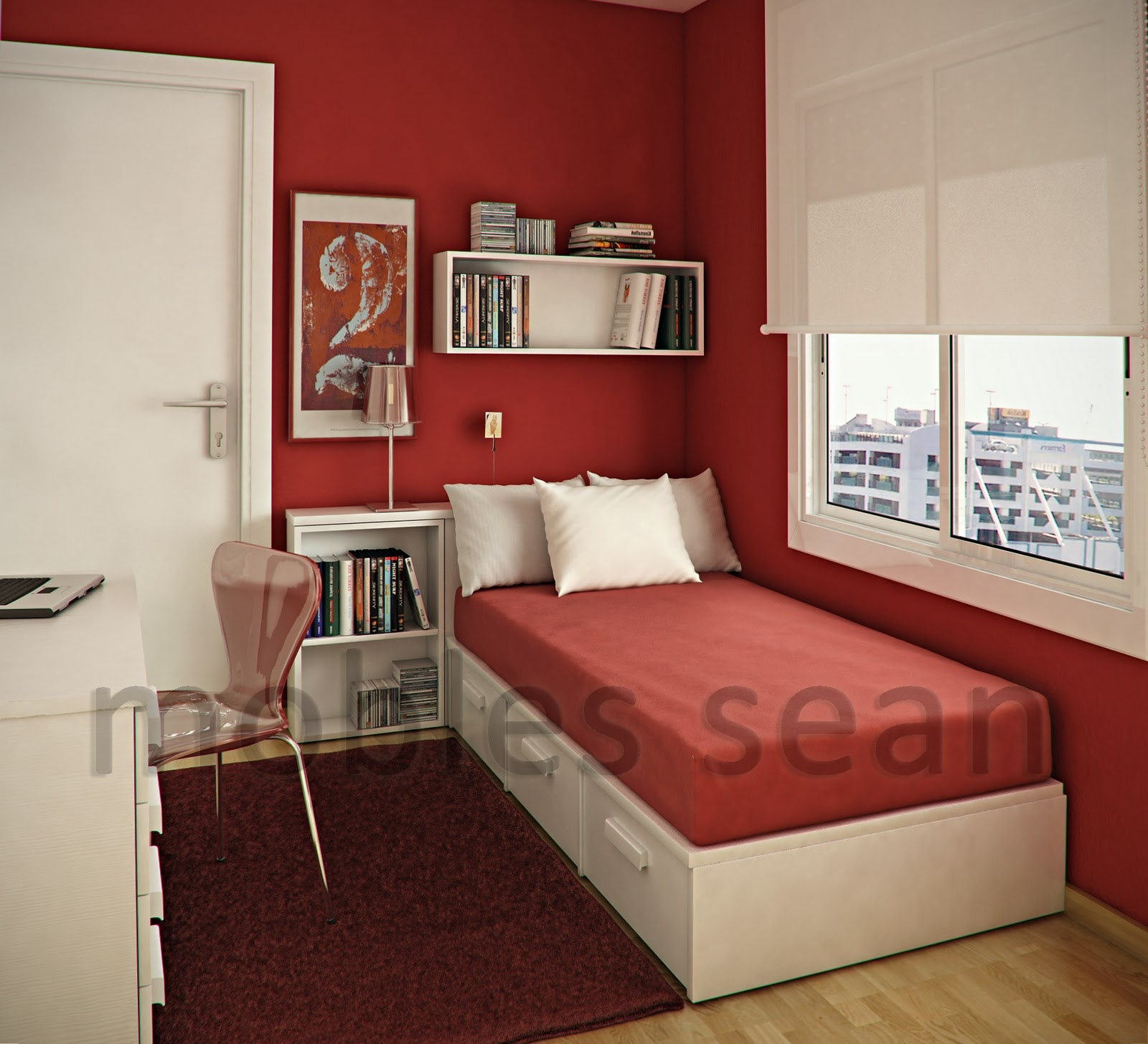 Space-Saving Designs for Small Kids Rooms on Rooms For Teenagers  id=74063
