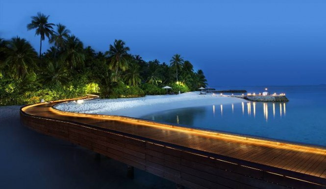 W Retreat Maldives Pier