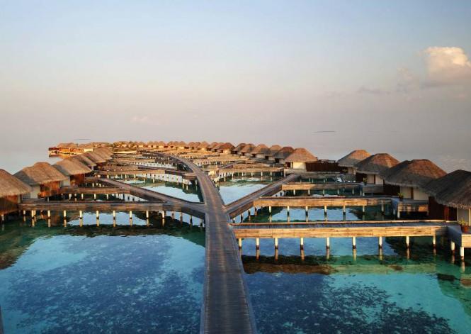 W Retreat Maldives WATER BUNGALOWS