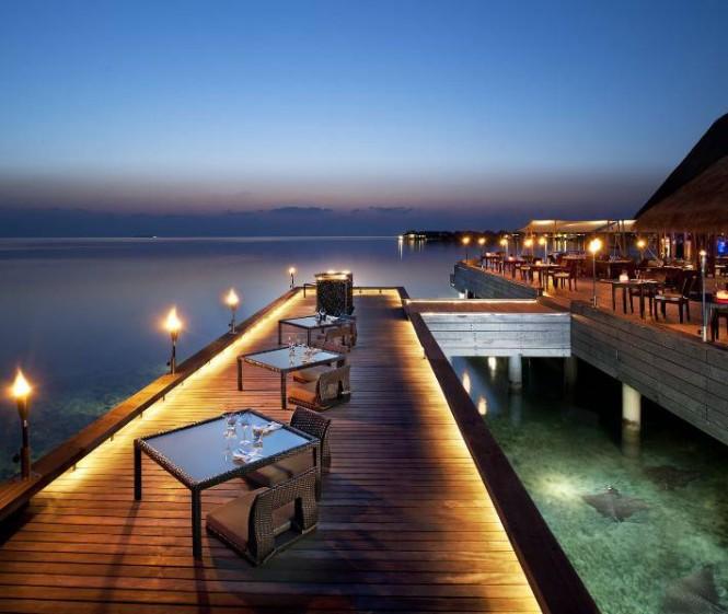 W Retreat Maldives dining