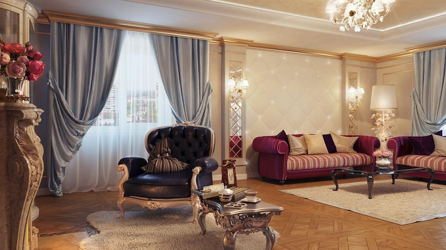 Cream Black Living Room Furniture Interior Design Ideas