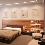 Neutral Bedroom Extended Headboardinterior Design Ideas