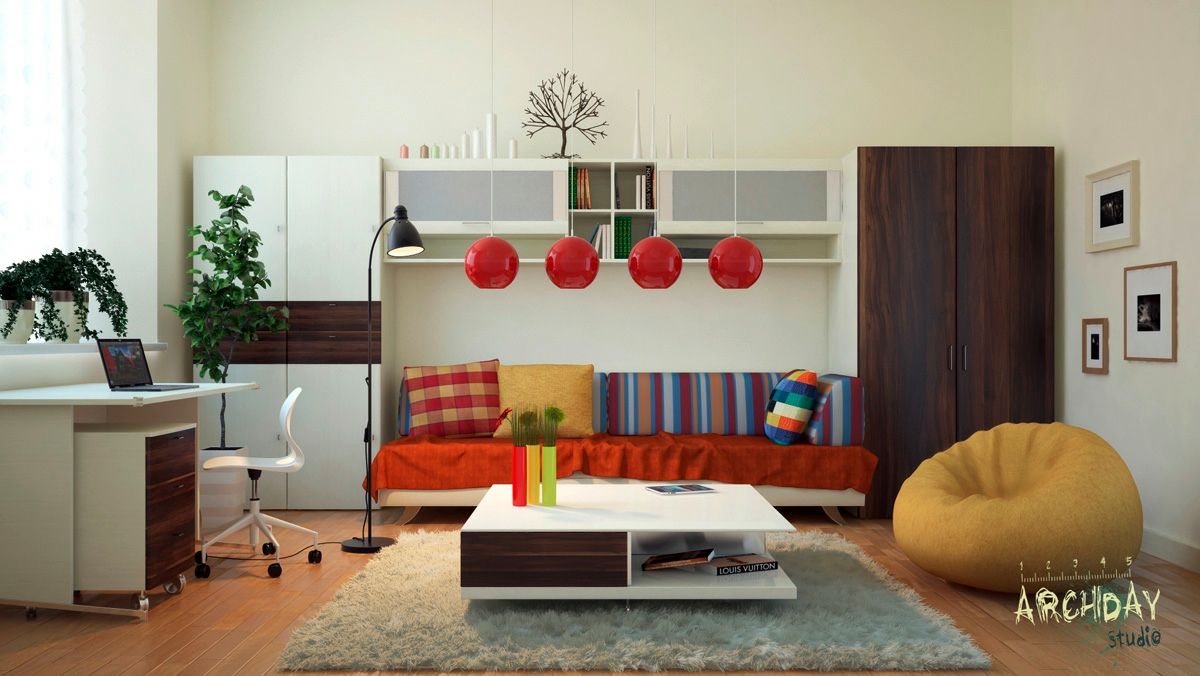 Red and white living room pictures red white and blue for Red and blue living room ideas