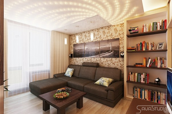 neutral living room decor Modern Rooms with a Feminine Touch