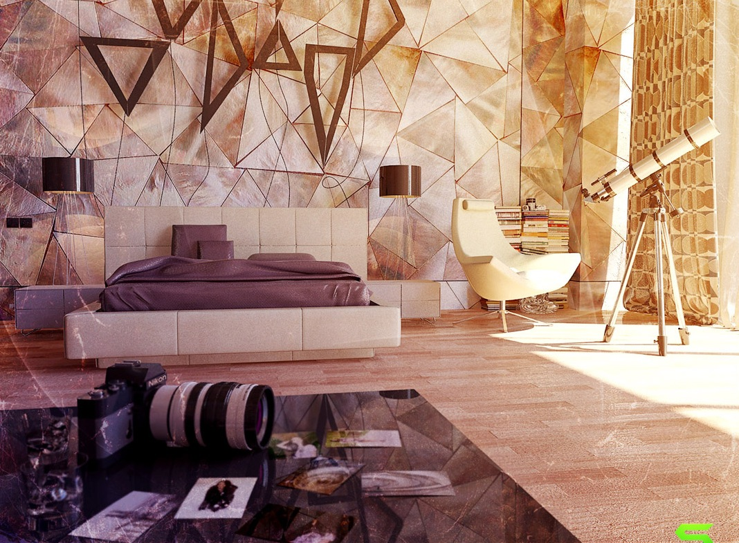 Unique Wall Texturing Examples on Creative Wall Design Ideas  id=64696