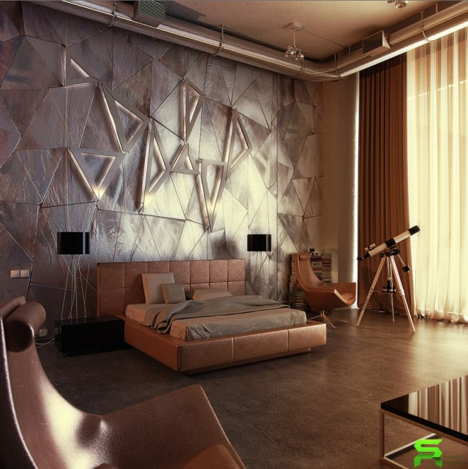Unique Wall Texturing Examples on Creative Wall  id=79744