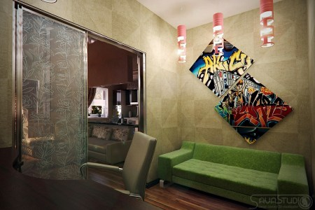 modern home design interior design light box studio set modern