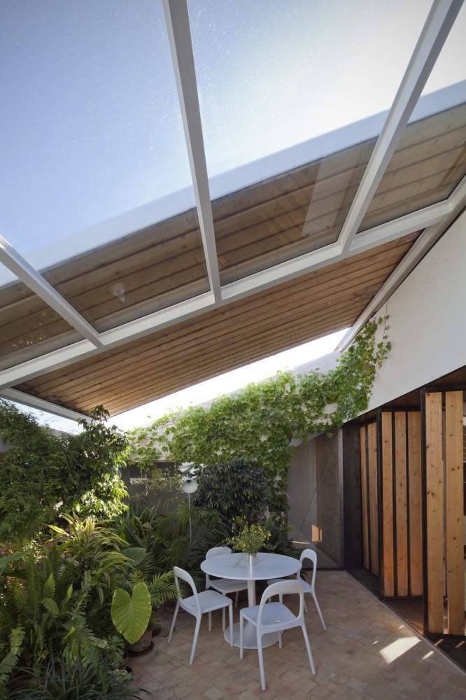 Modern Greenhouse Area Interior Design Ideas
