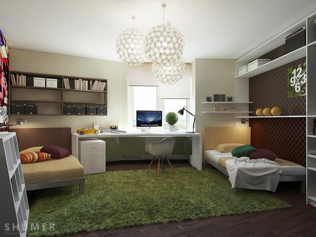 Teen Workspaces on Teenage Rooms  id=91322