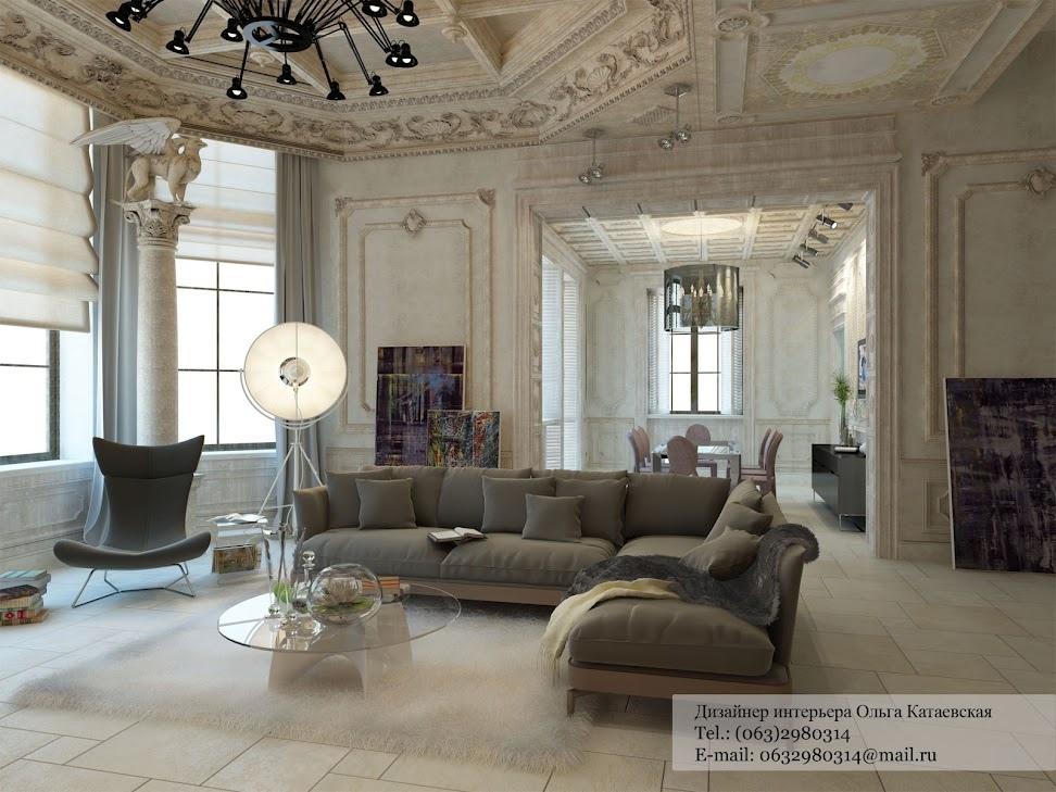 Eclectic Living Room Interior Design Ideas
