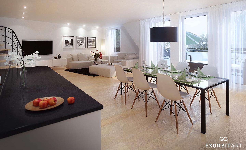 Glass Dining Table Interior Design Ideas