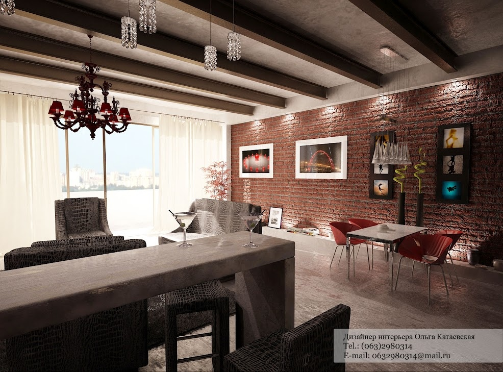Captivating 70 Living Room Design Ideas Exposed Brick Part 17