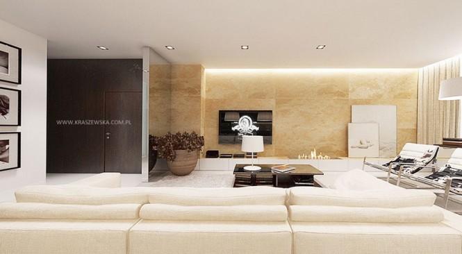 White cream lounge