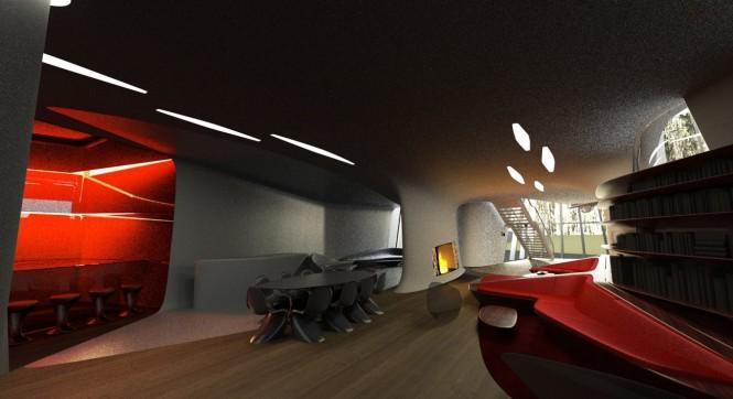 Space age interior
