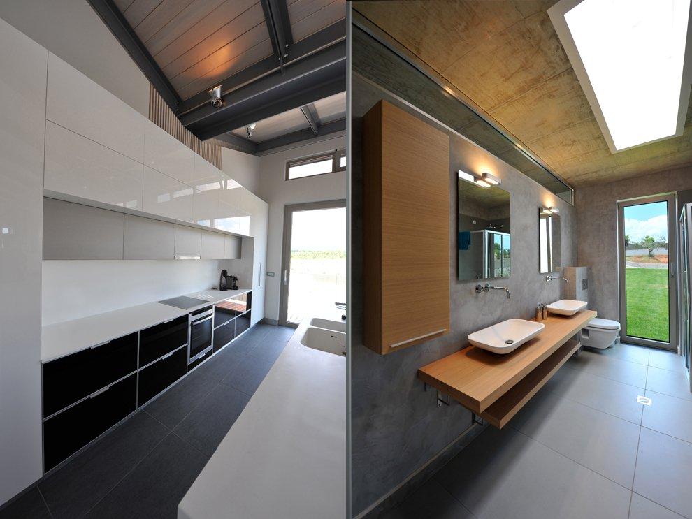 Interior Modern Bathroom Kitchen Interior Design Ideas